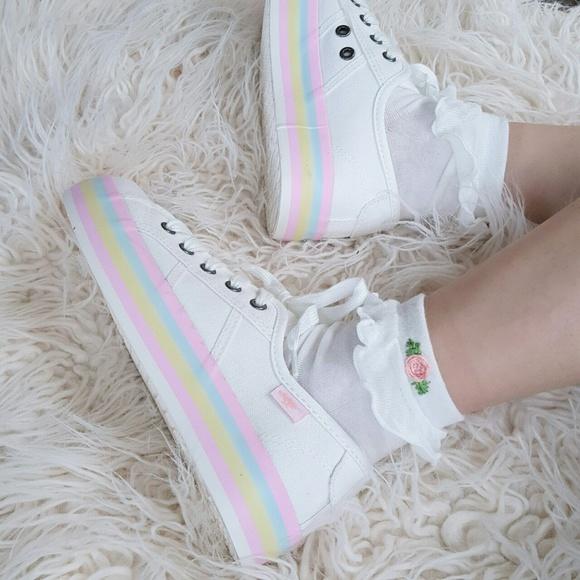 Shoes | Pastel Platform Sneakers | Poshmark